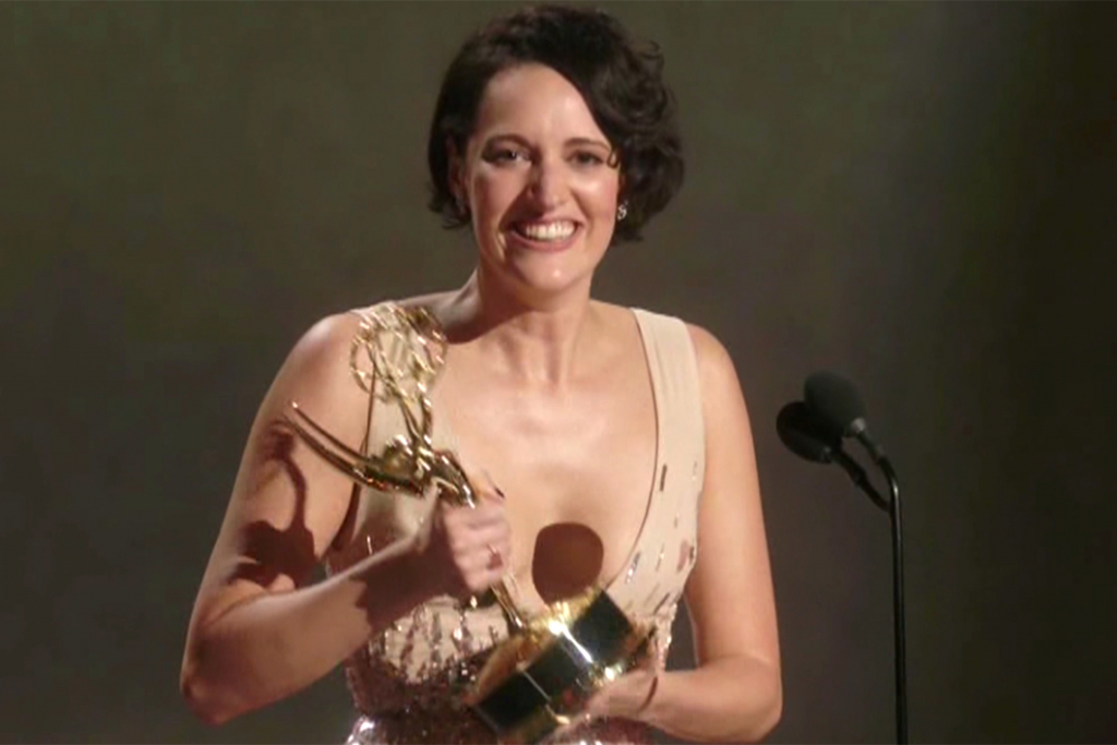 Phoebe Waller-Bridge | Top 10 Moments at the 2019 Emmy Awards | InstantHub