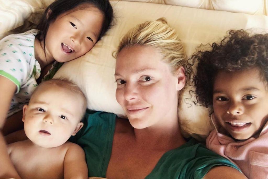 认识凯瑟琳·海格尔的孩子|  凯瑟琳·海格(Katherine Heigl)和她的孩子们的私生活会让你感到惊讶  Instanthub