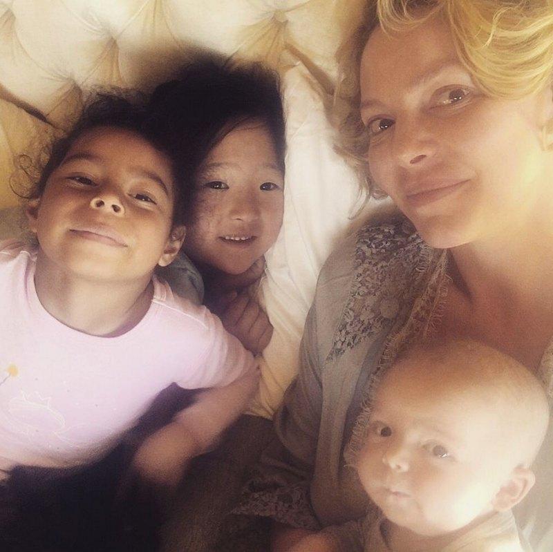 依bud伙伴|  凯瑟琳·海格(Katherine Heigl)和她的孩子们的私生活会让你感到惊讶  Instanthub