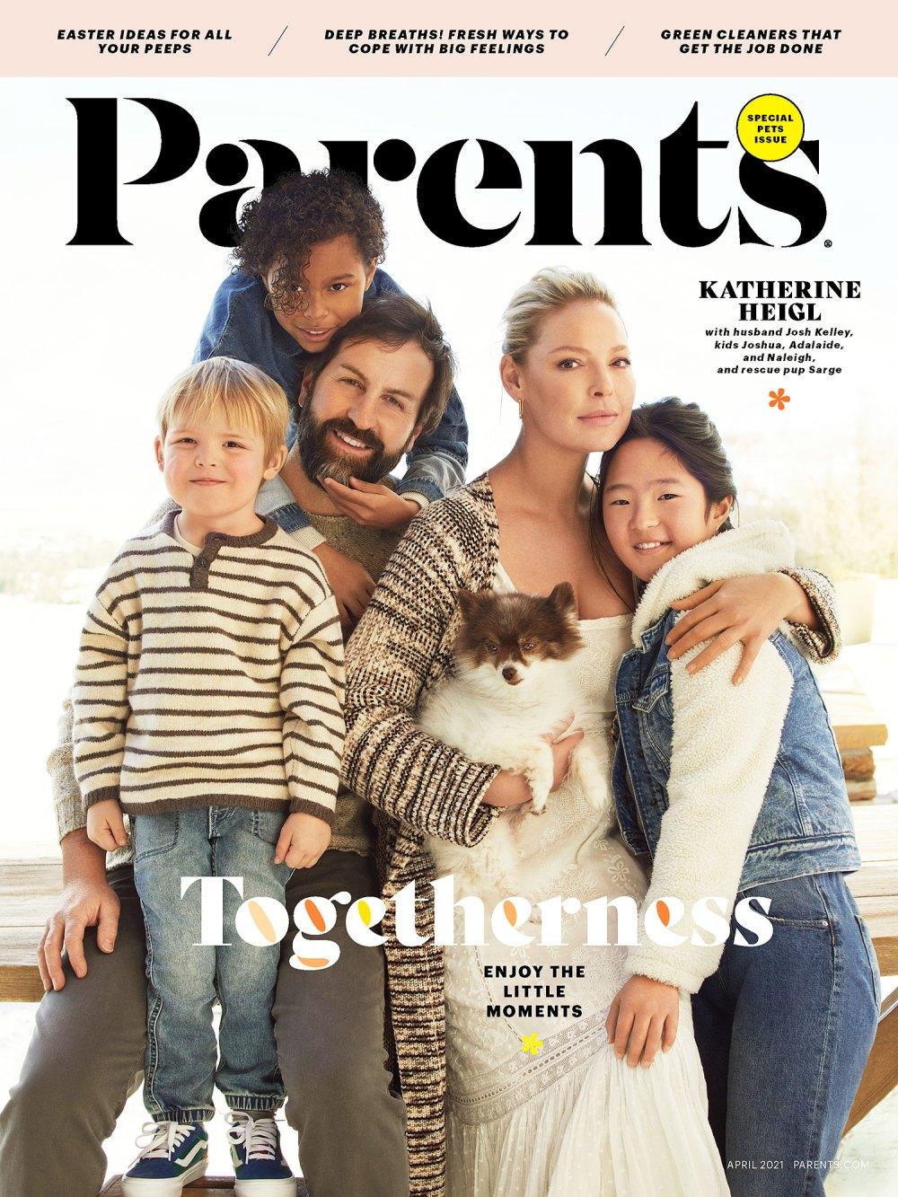 模范父母|  凯瑟琳·海格(Katherine Heigl)和她的孩子们的私生活会让你感到惊讶  Instanthub