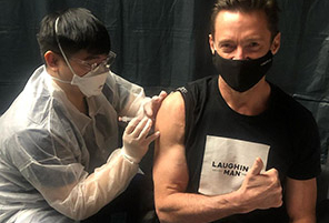 Celebrities Get Creative Sharing Their Covid Vaccine Photos | InstantHub