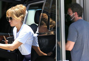 Ben Affleck & Jennifer Lopez Spotted Kissing in Miami Gym | InstantHub