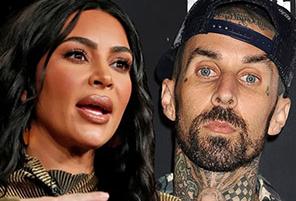 Kim Kardashian Denies Affair With Travis Barker | InstantHub