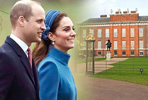 Inside William & Kate's Massive 3-Story Apartment at Kensington Palace | InstantHub