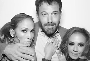 Ben Affleck and Jennifer Lopez Make Instagram Debut at Leah Remini's Birthday Party | InstantHub
