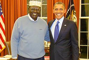 Barack Obama and Malik Obama | InstantHub